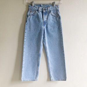 Vintage Levi's 562 Orange Tab Jeans